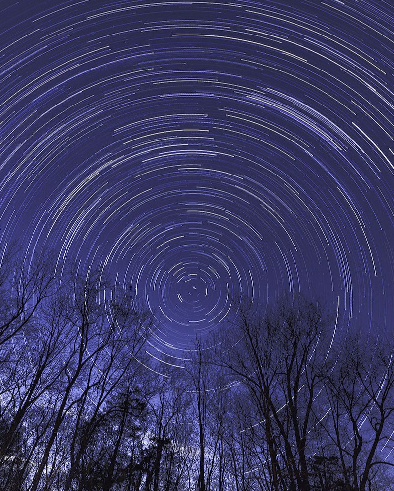 Star Trail Hasselblad X1DII-50c ©Steve Barger