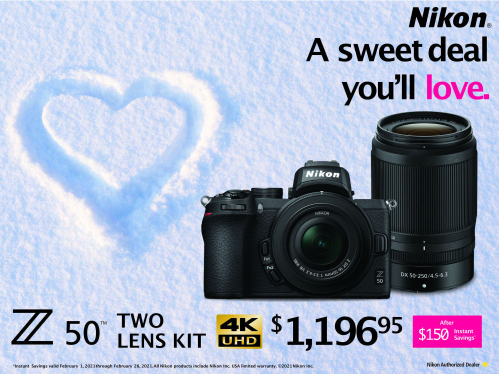 nikon Z50 2 lens kit Black Friday Promo sale